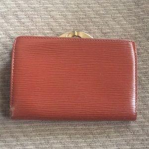 LV French Kenya brown epi leather wallet
